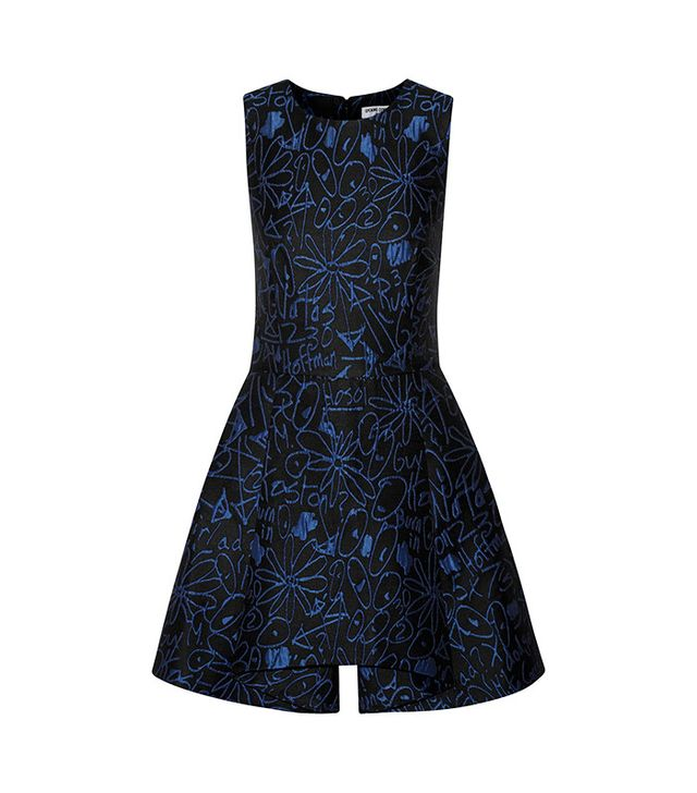 Opening Ceremony Scribbles Jacquard Mini Dress