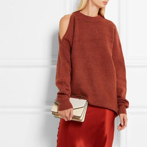 Cutout Oversized Knitted Sweater