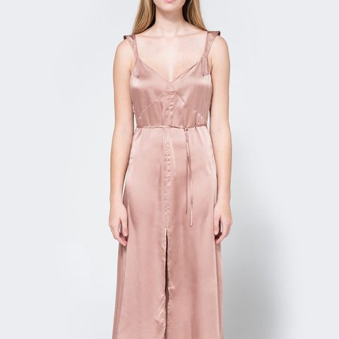 Cecilia Slip Dress in Rose