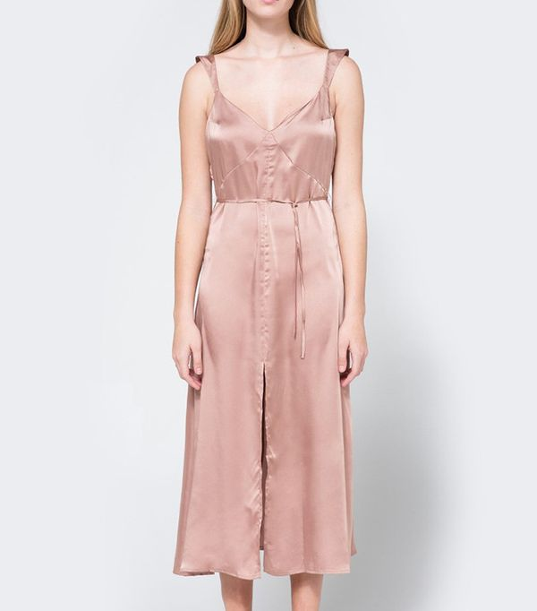 Farrow Cecilia Slip Dress in Rose