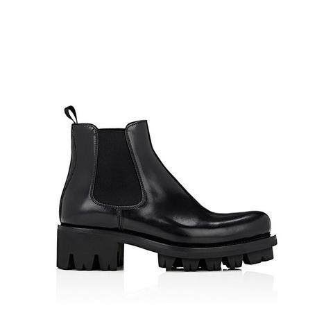 Lug-Sole Platform Chelsea Boots