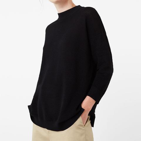 Stripe Textured Sweater