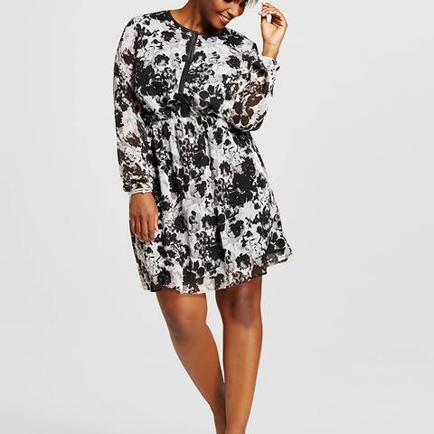 Women's Plus Size Printed Easy Waist Dress