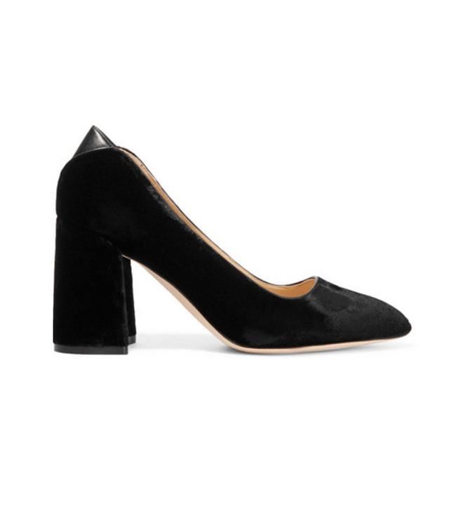 Sam Edelman velvet shoes