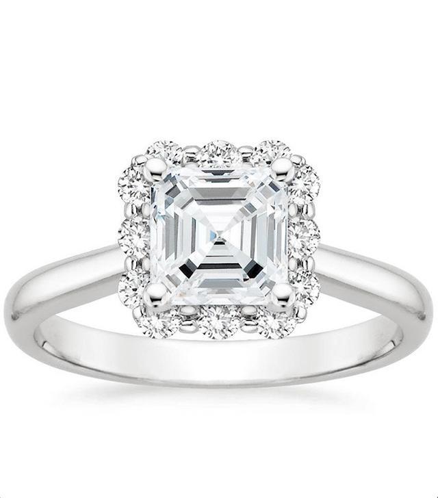 Brilliant Earth Lotus Flower Engagement Ring