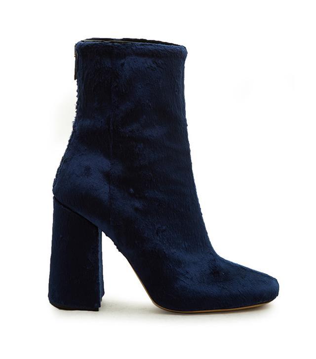 Ellery Esmond Velvet Ankle Boots