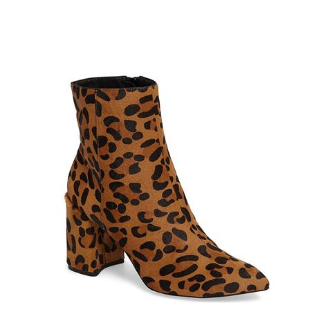 Heart Genuine Calf Hair Boot