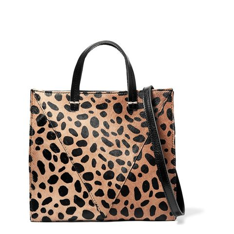 Simple Mini Leopard-Print Shoulder Bag