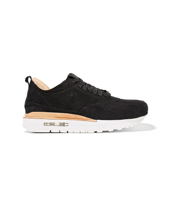 Nike NikeLab Air Max I Royal Faxu Suede and Leather Sneakers