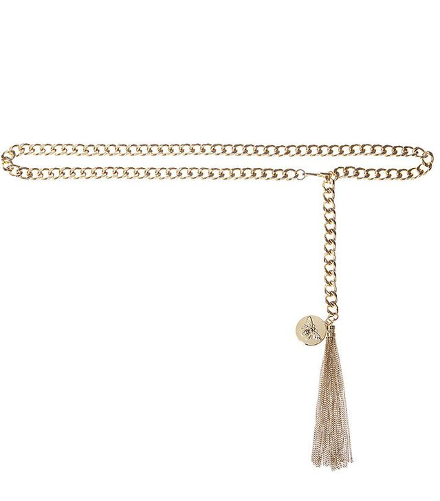 Express Edition Bee Charm Chain Belt