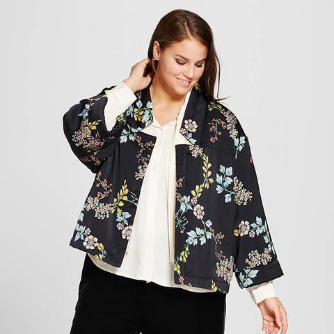 Quilted Kimono Jacket