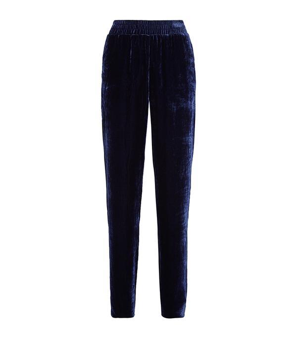 Velvet Track Pants