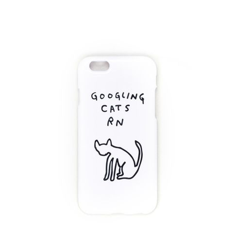 Googling Cats iPhone Case