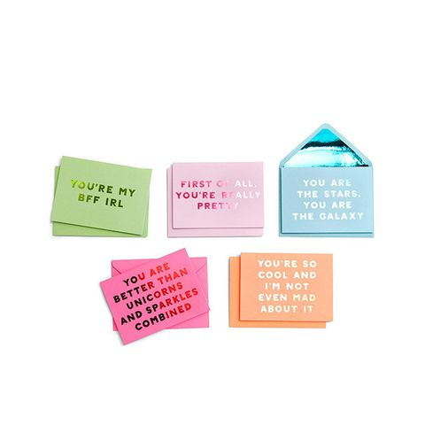 Compliment Greeting Card Set