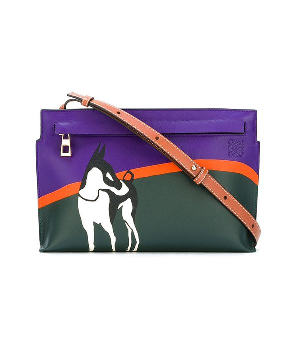 Loewe Dog Print Cross Body Bag