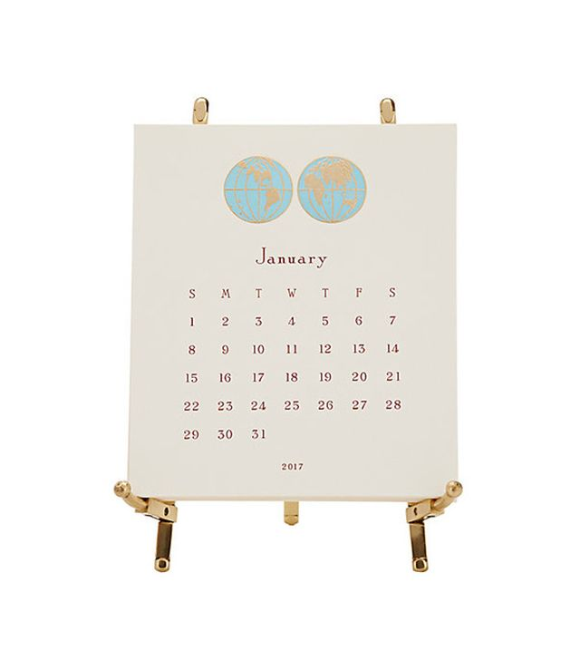 Connor 2017 World Easel Calendar