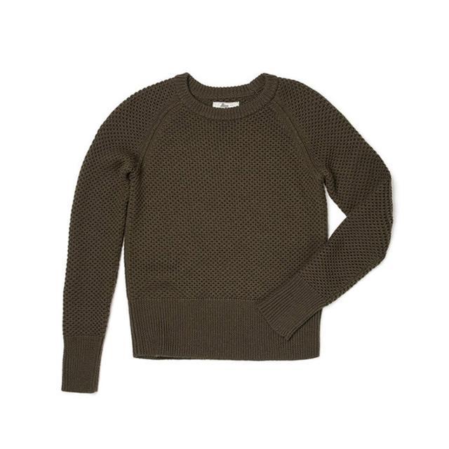 G.H. Bass & Co. Textured Crew Neck Sweater