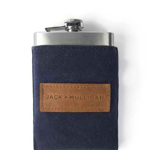 Redford Waxed Canvas Flask