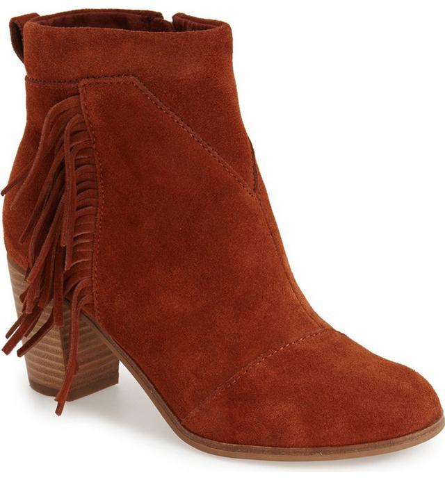 Toms Lunata Suede Boots