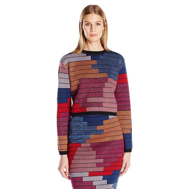 Mara Hoffman Radial Cropped Sweater