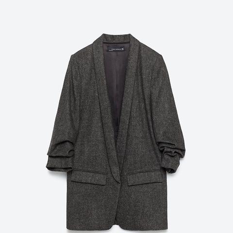 Roll-Up Sleeve Jacket