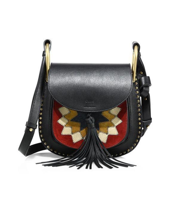 Chloé Hudson Small Patchwork Saddle Bag