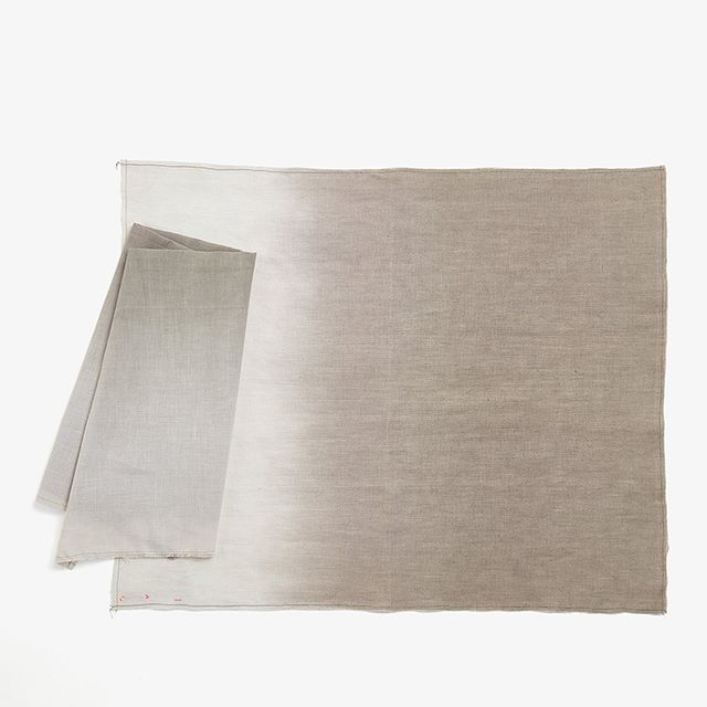 ABC Home Ombre Table Linens Charcoal