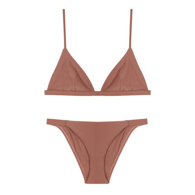 Matteau Triangle Bikini Peach