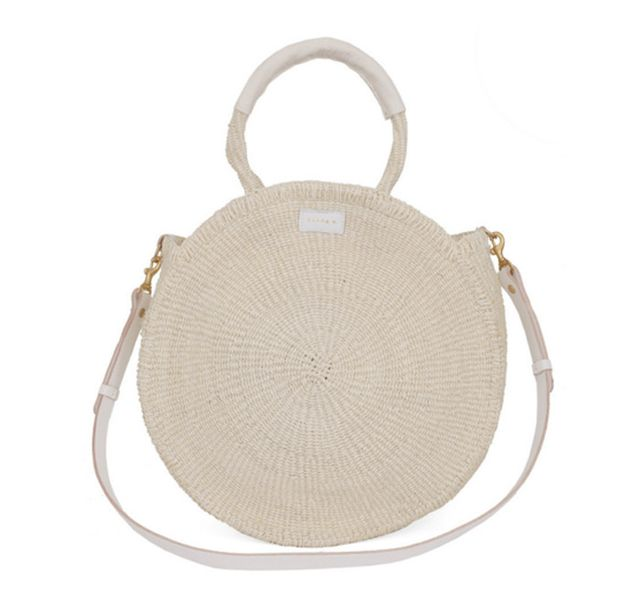 Clare V. Alice Bag in Creme