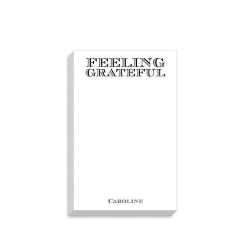 Feeling Grateful Custom Notepad