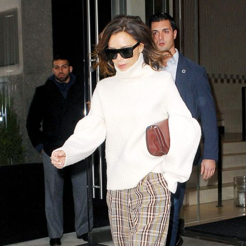 what to wear to work in winter: Victoria Beckham