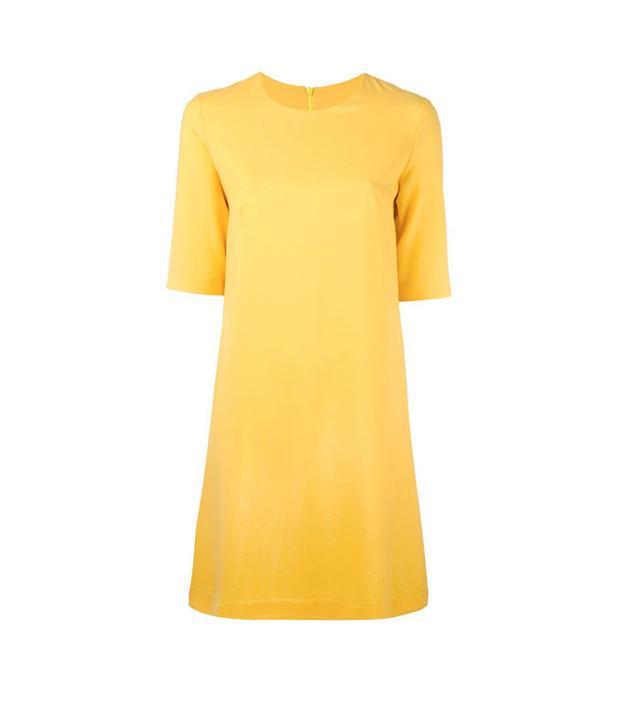Ultrachic Short Sleeved Flared Dress