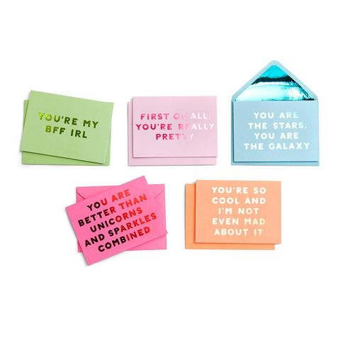 Complement Greeting Cards