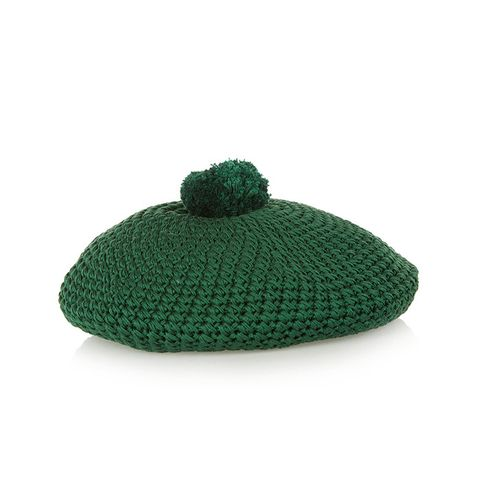 Crocheted Cotton Beret