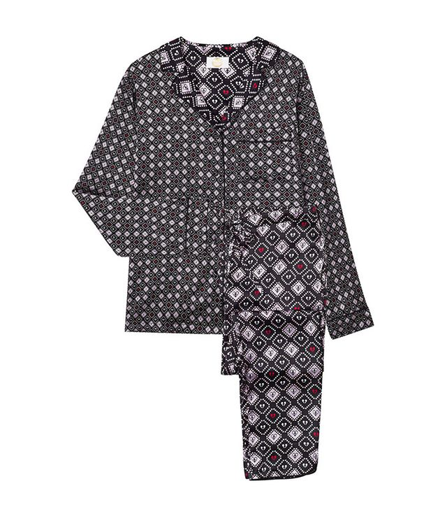 Yolke Ace of Spades Tapered Pyjama Set