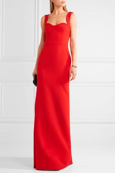Victoria Beckham Crepe Gown