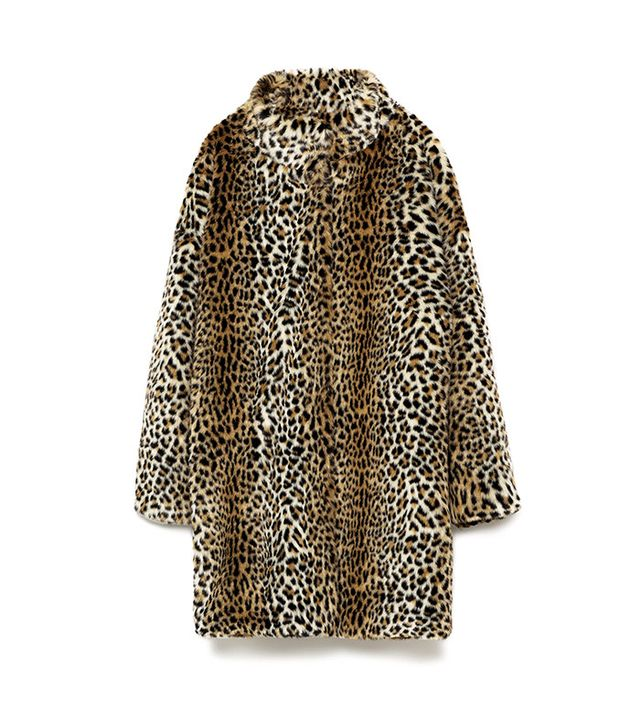 Zara Animal Print Coat
