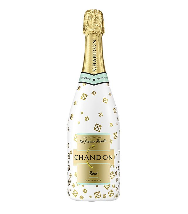 Chandon x Rebecca Minkoff Limited Edition Holiday 2016 White Brut Classic
