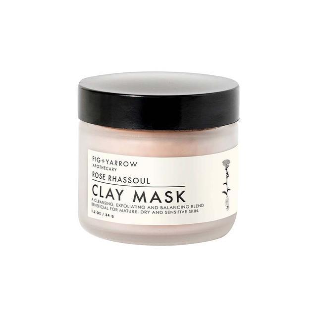 Fig + Yarrow Rose Clay Mask