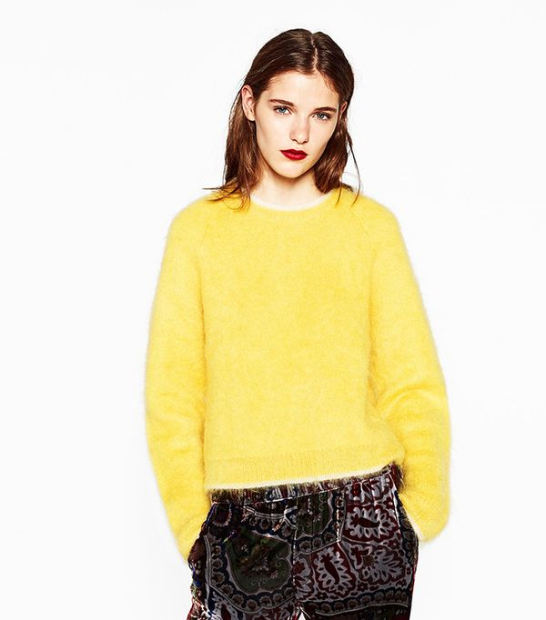 Zara Limited Edition Mohair Sweater