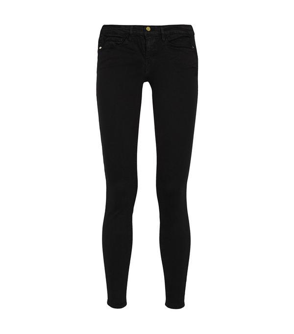 Frame Le Colour Mid-Rise Skinny Jeans