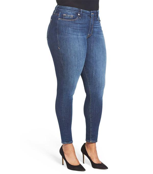 Women's Good American Good Legs High Rise Skinny Jeans