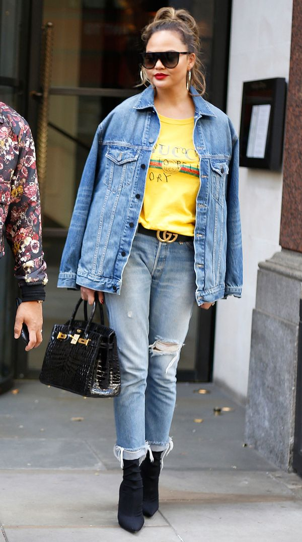 Try Out Double Denim