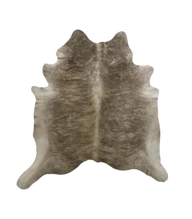 Saddlemans Light Brindle Tan Hand-Woven Area Rug