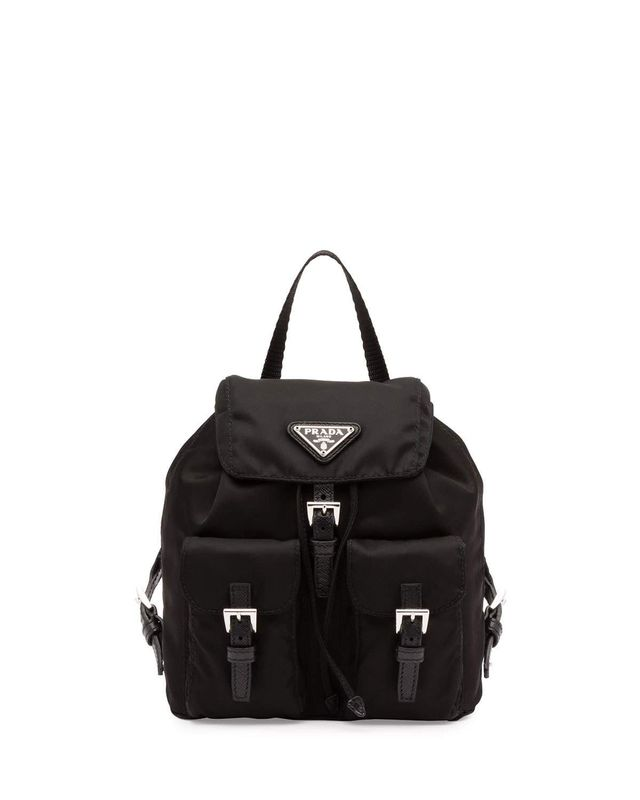 Prada Vela Mini Backpack