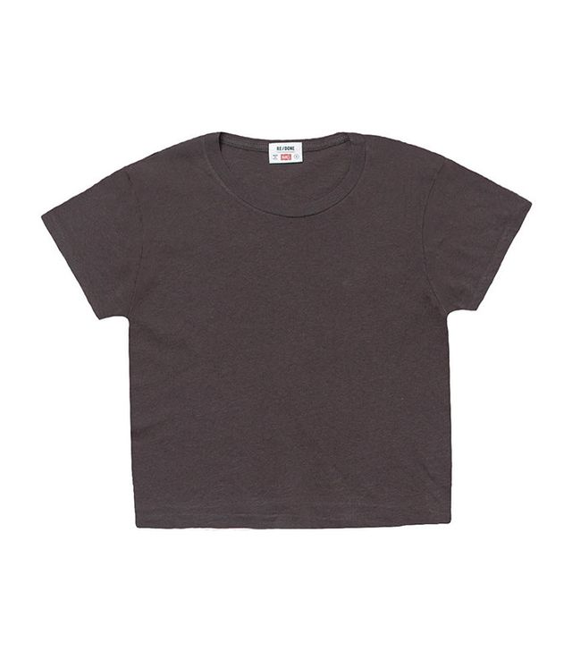 Re/Done | Hanes The 1950s Boxy Tee