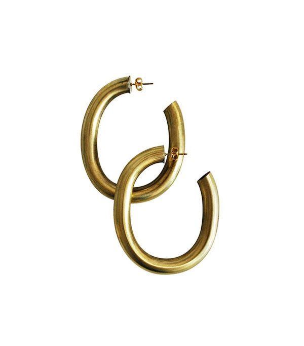 Laura Lombardi Jewelry Curve Earrings