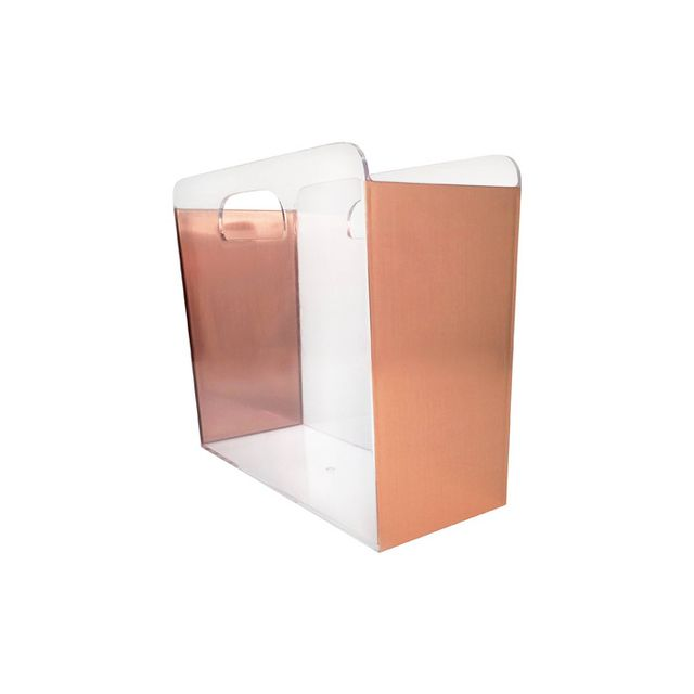 Target Clear File Box with Copper Foil