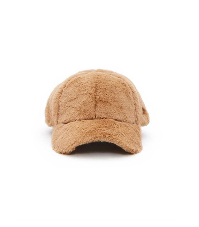 Opening Ceremony Faux Fur Baseball Hat