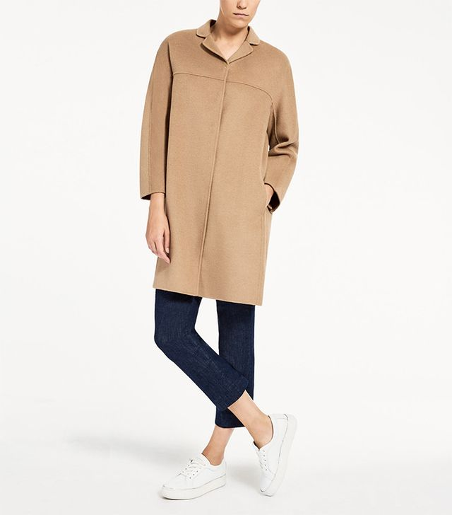 Max Mara Wool and Angora Coat